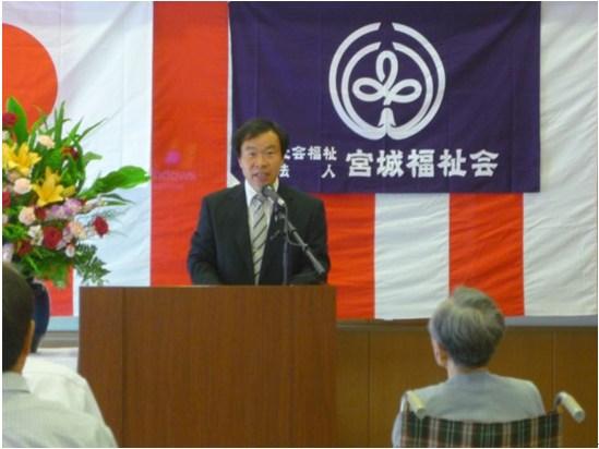 松川施設長の経過報告
